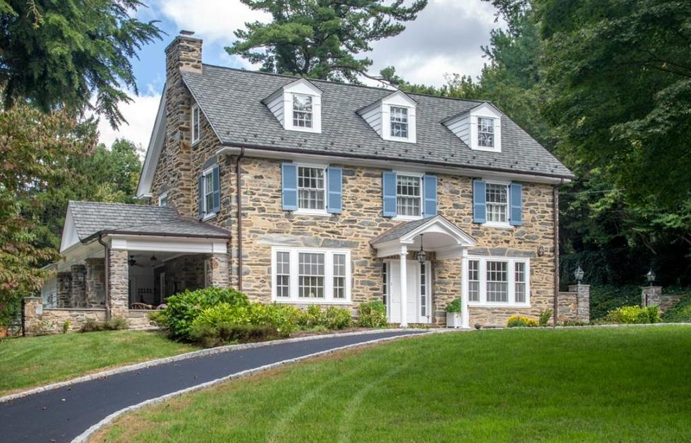 Home for sale in Bryn Mawr, lower merion school district